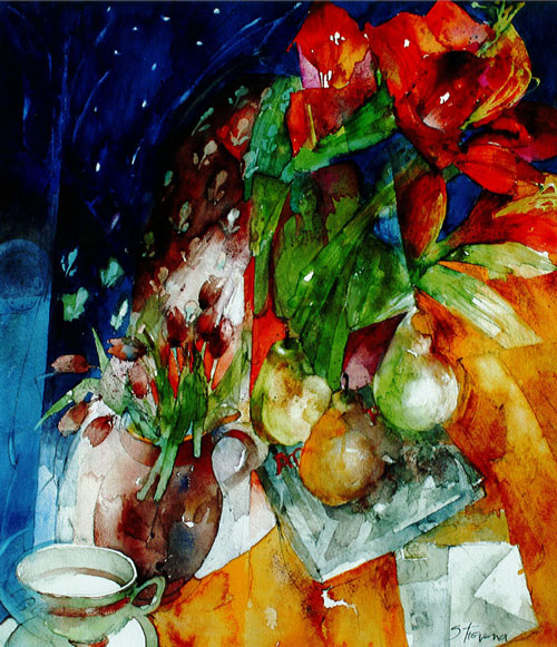 Watercolor Wonderland The Shirley Trevena Collection